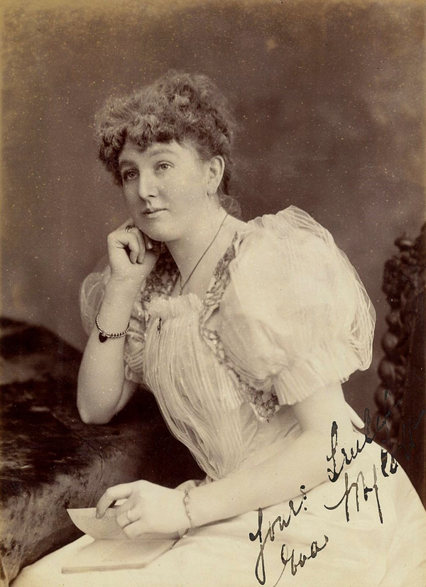 As well as being a well known singer of her time, Eva Mylott is perhaps better known today as being Mel Gibson's grandmother.