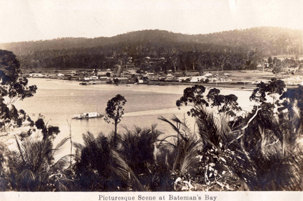 An early image of Bateman's Bay
