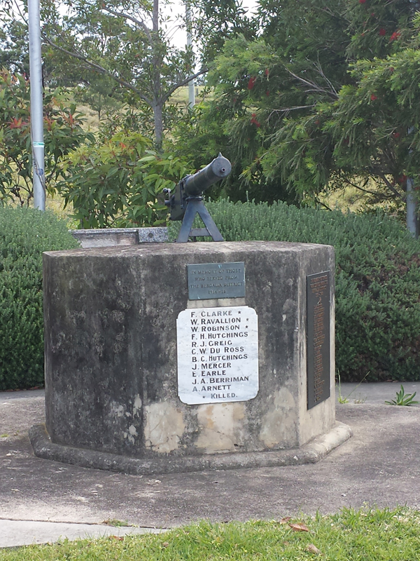 The monument at Begalia