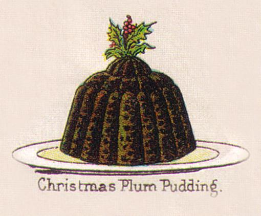 Mrs Beeton's Christmasplum puddong of the 1890's