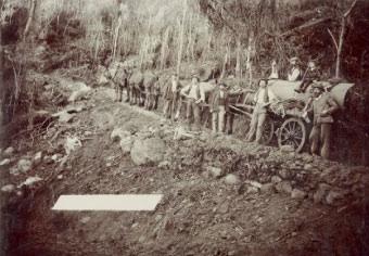 Mining at Gulaga/Mt Dromedary