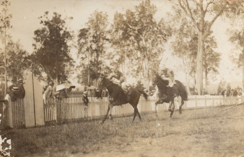 A finish at the old Moruya Race track