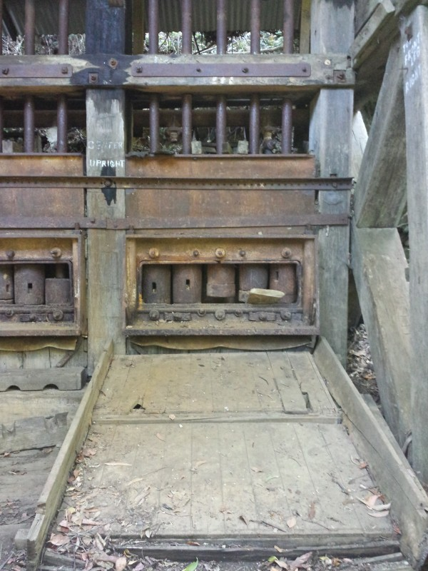 The battery at Coman's Mine today