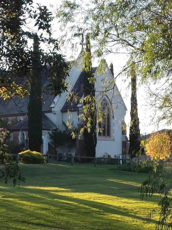 """St. John""""s Anglican Church, Moruya."""