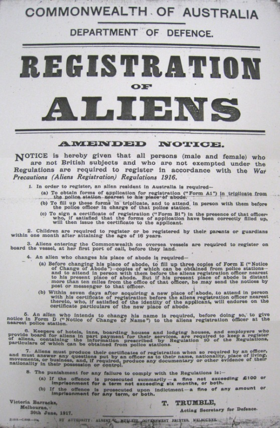 RegistrationofAliens