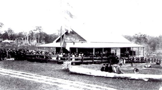 The opening of the Moruya Cheese Factory, 1898