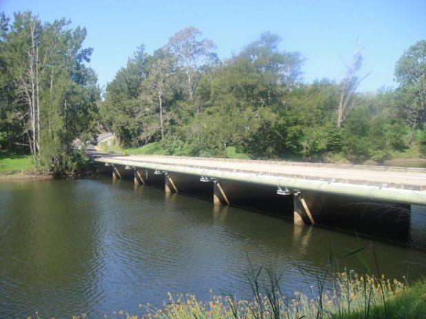 Kiora Bridge today