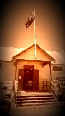 The pavilion at Moruya Showground