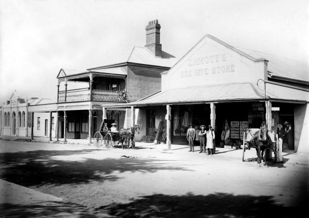 Beehive Store Vulcan St Abt 1890