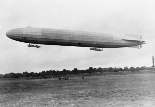 World War One zeppelin aircraft