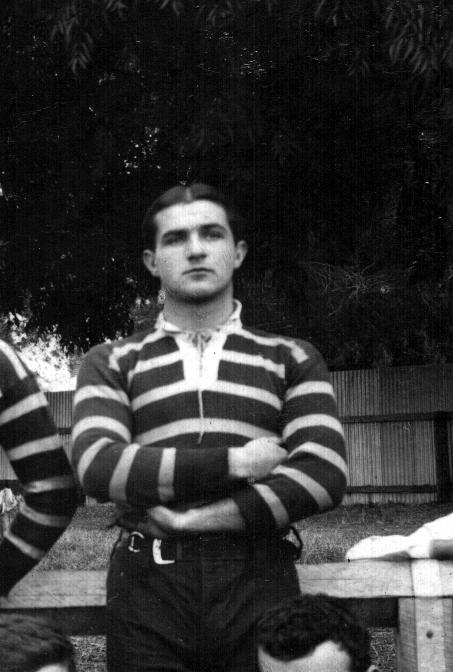 Davis was a keen rugby player