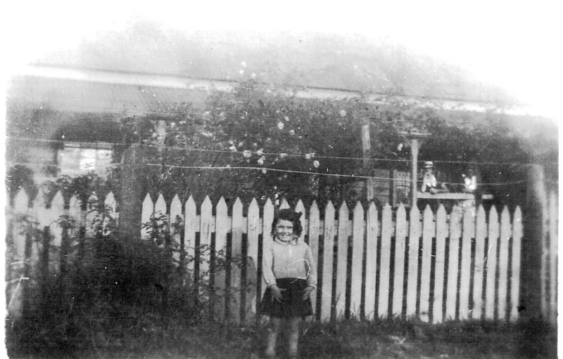 Pam Wiggan in front of one of Braemar's rose gardens